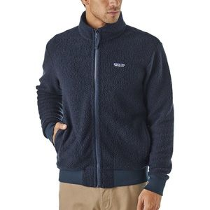 PATAGONIA Woolyester fleece jacket Small Navy